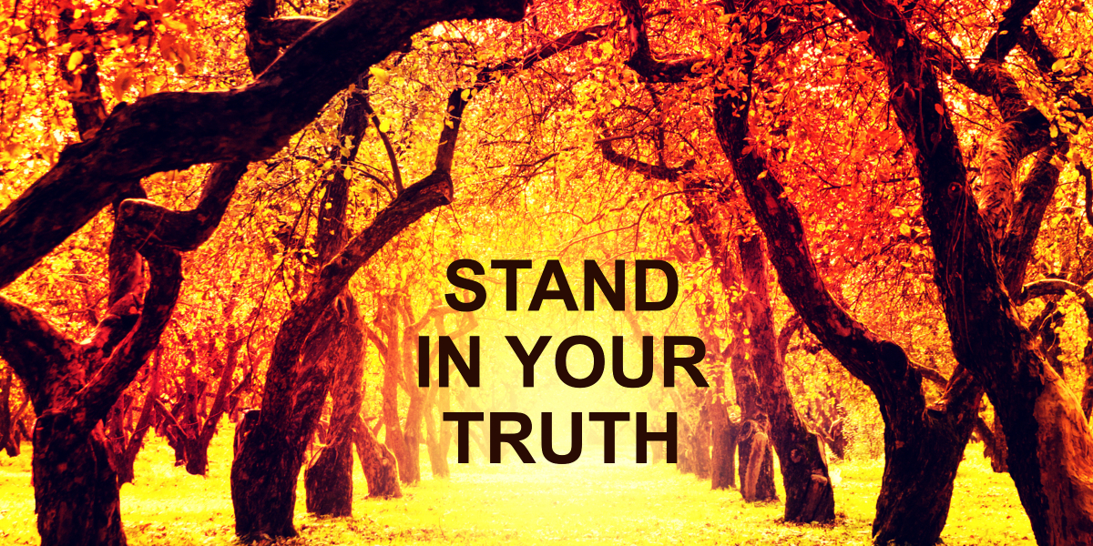 How to Stand in Your Truth | Marian Buck Murray